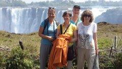 LGBT Africa Travel - Thunder that Smokes - Victoria Falls